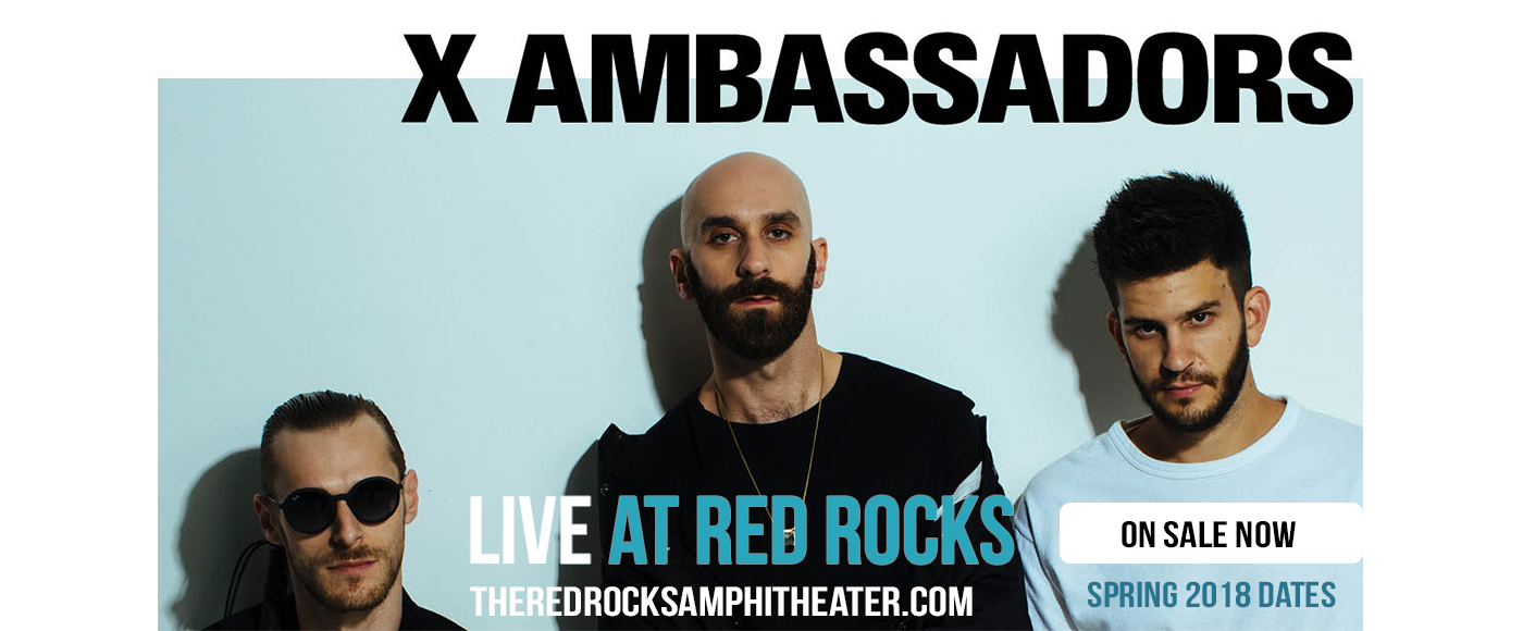 X Ambassadors at Red Rocks Amphitheater