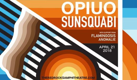 Opiuo, SunSquabi & Flamingosis at Red Rocks Amphitheater