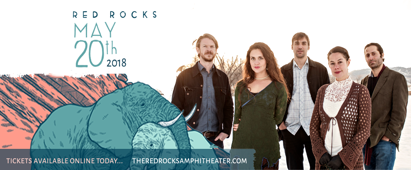 Elephant Revival & Blind Pilot at Red Rocks Amphitheater