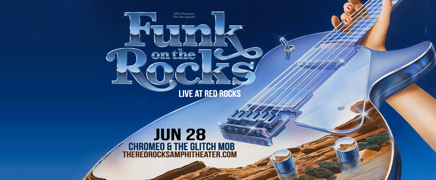 Chromeo & The Glitch Mob at Red Rocks Amphitheater