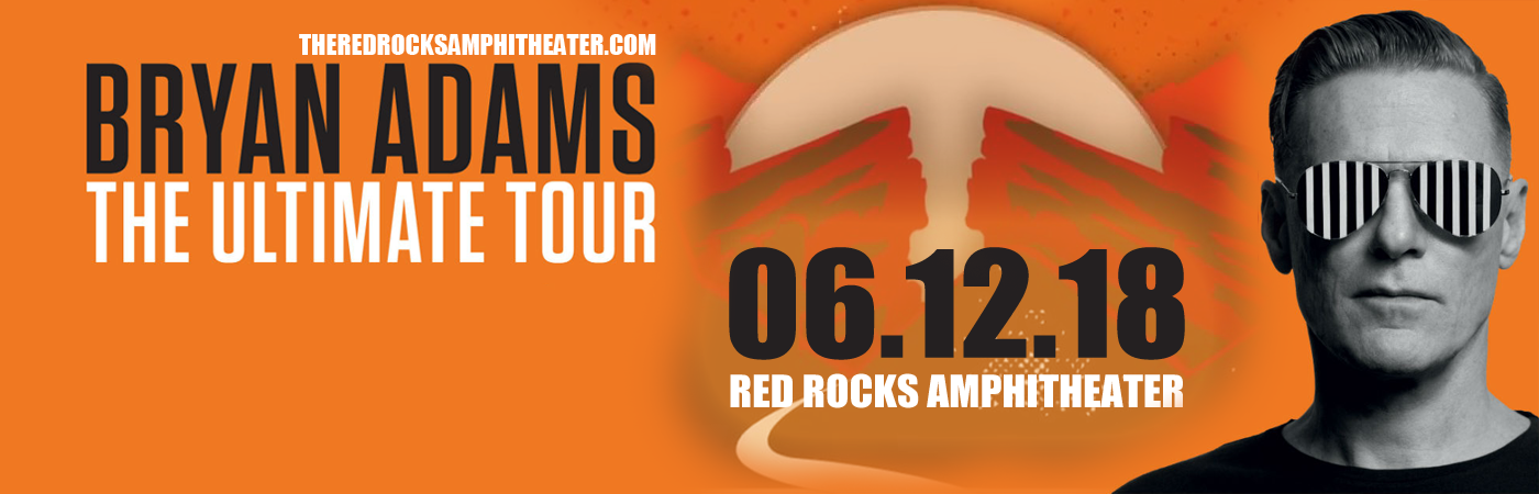 Bryan Adams at Red Rocks Amphitheater