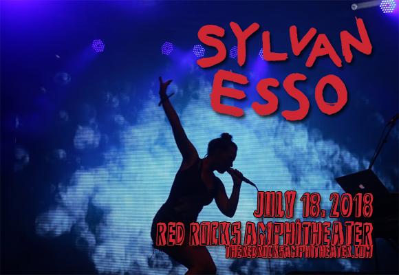 Sylvan Esso at Red Rocks Amphitheater