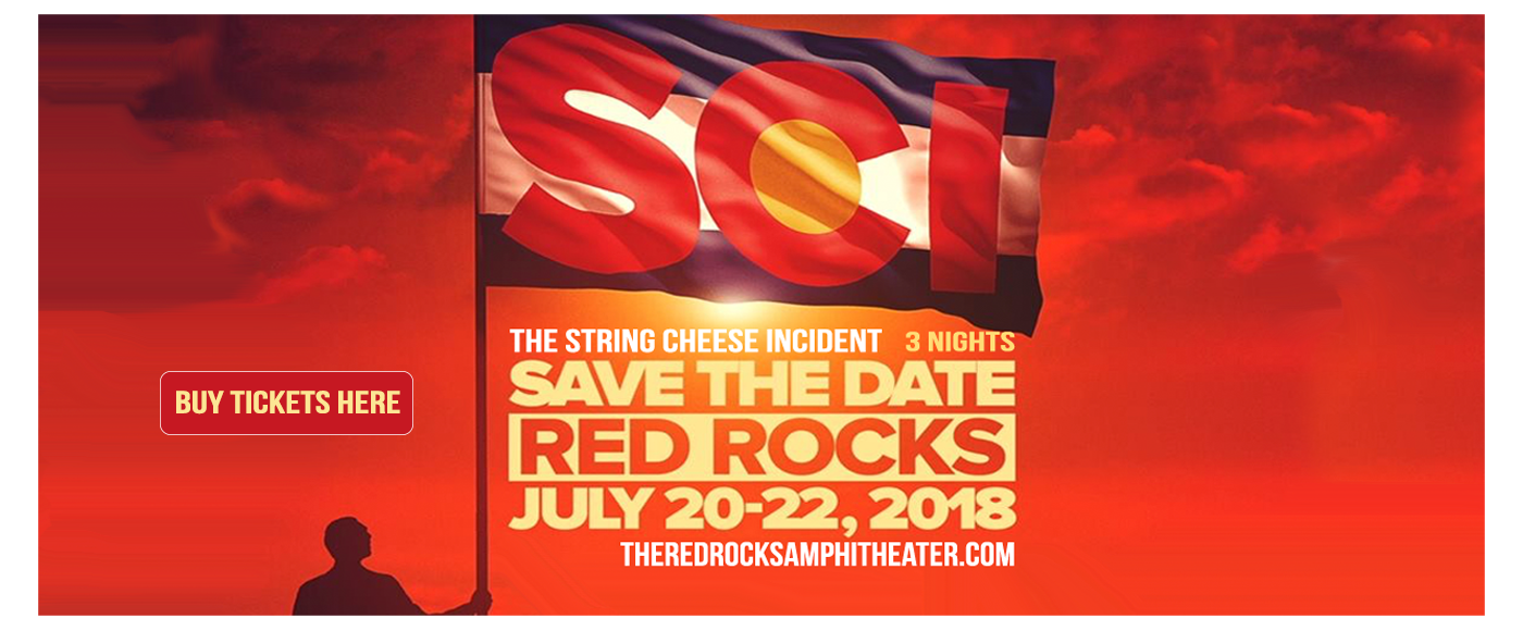 String Cheese Incident (Time: TBD) at Red Rocks Amphitheater