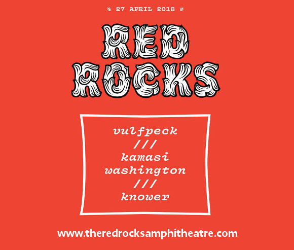Vulfpeck, Kamasi Washington & Knower at Red Rocks Amphitheater