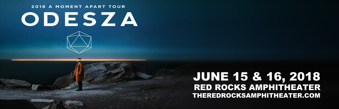 Odesza at Red Rocks Amphitheater