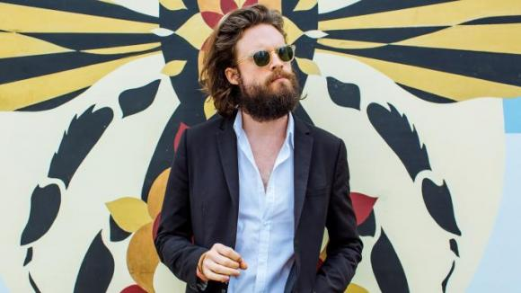 Father John Misty at Red Rocks Amphitheater