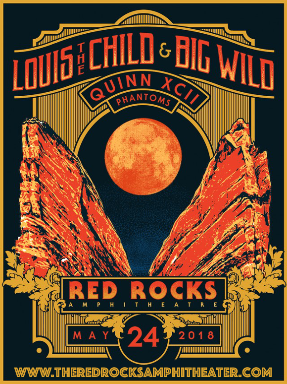 Louis The Child, QUinn XCII & Phantoms at Red Rocks Amphitheater
