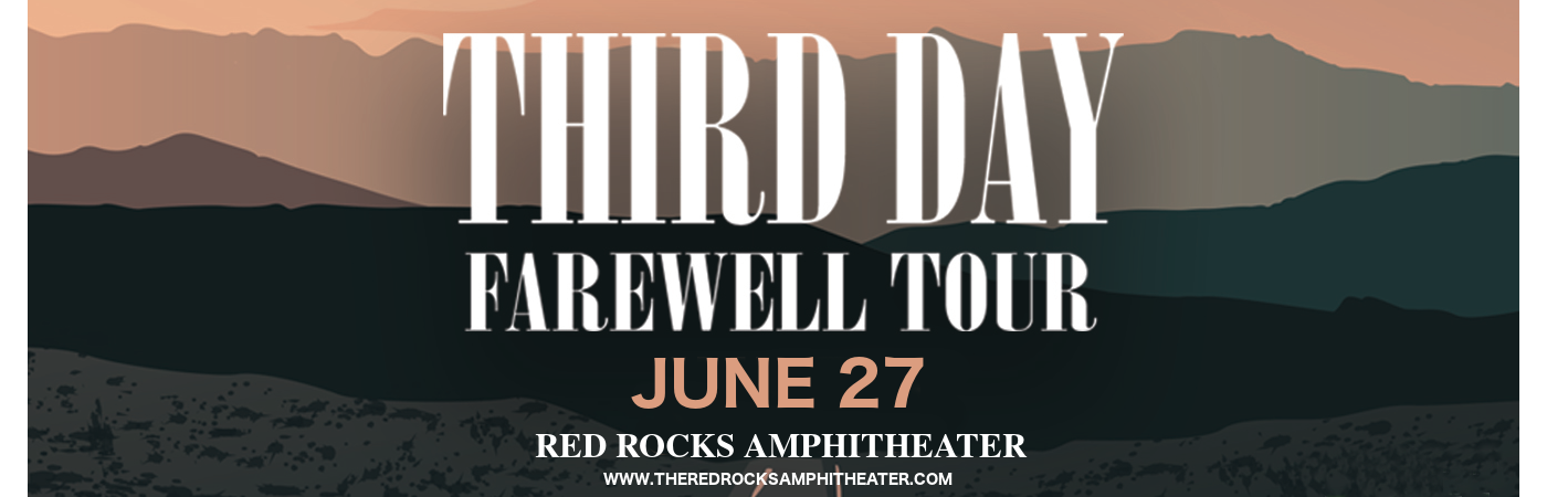 Third Day at Red Rocks Amphitheater