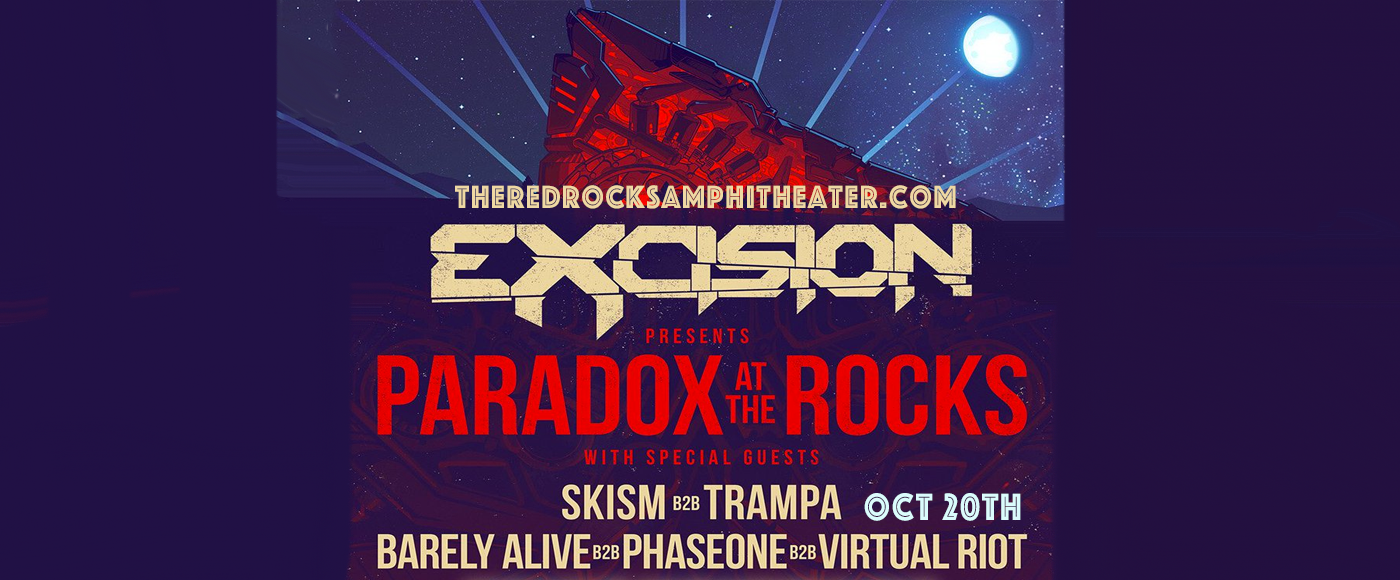 Excision at Red Rocks Amphitheater