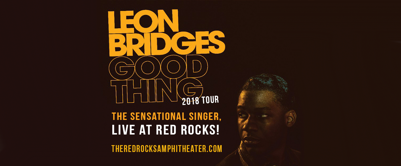 Leon Bridges at Red Rocks Amphitheater