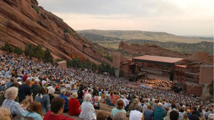 Colorado Symphony Orchestra: Brett Mitchell - Rachmaninoff Piano Concerto No. 2 at Red Rocks Amphitheater