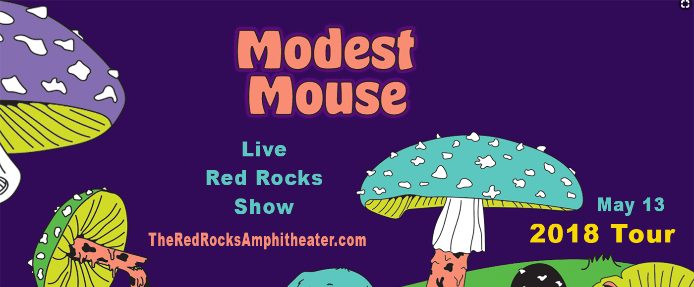 Modest Mouse at Red Rocks Amphitheater