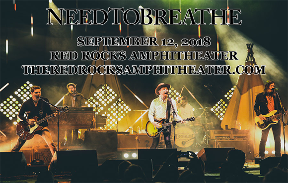 Needtobreathe, Johnnyswim & Forest Blakk at Red Rocks Amphitheater