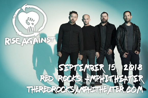 Rise Against, AFI & Anti-Flag at Red Rocks Amphitheater