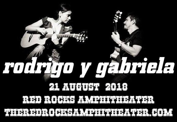 Rodrigo y Gabriela  at Red Rocks Amphitheater