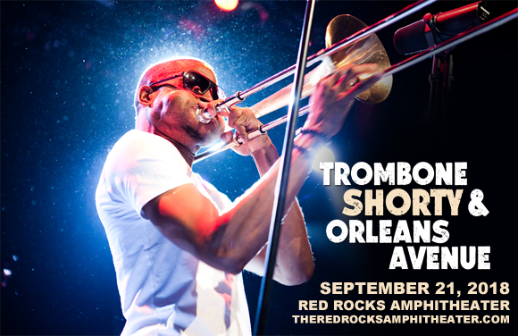Trombone Shorty and Orleans Avenue at Red Rocks Amphitheater