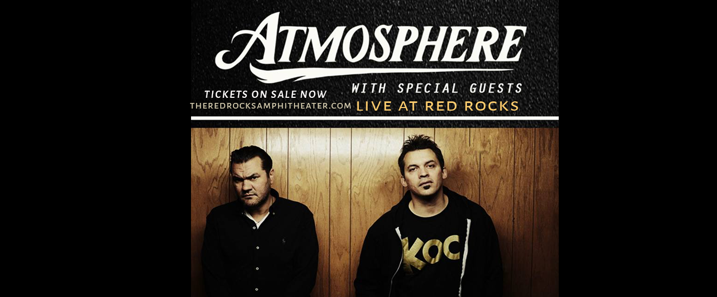 Atmosphere at Red Rocks Amphitheater