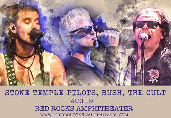 The Cult, Stone Temple Pilots & Bush at Red Rocks Amphitheater