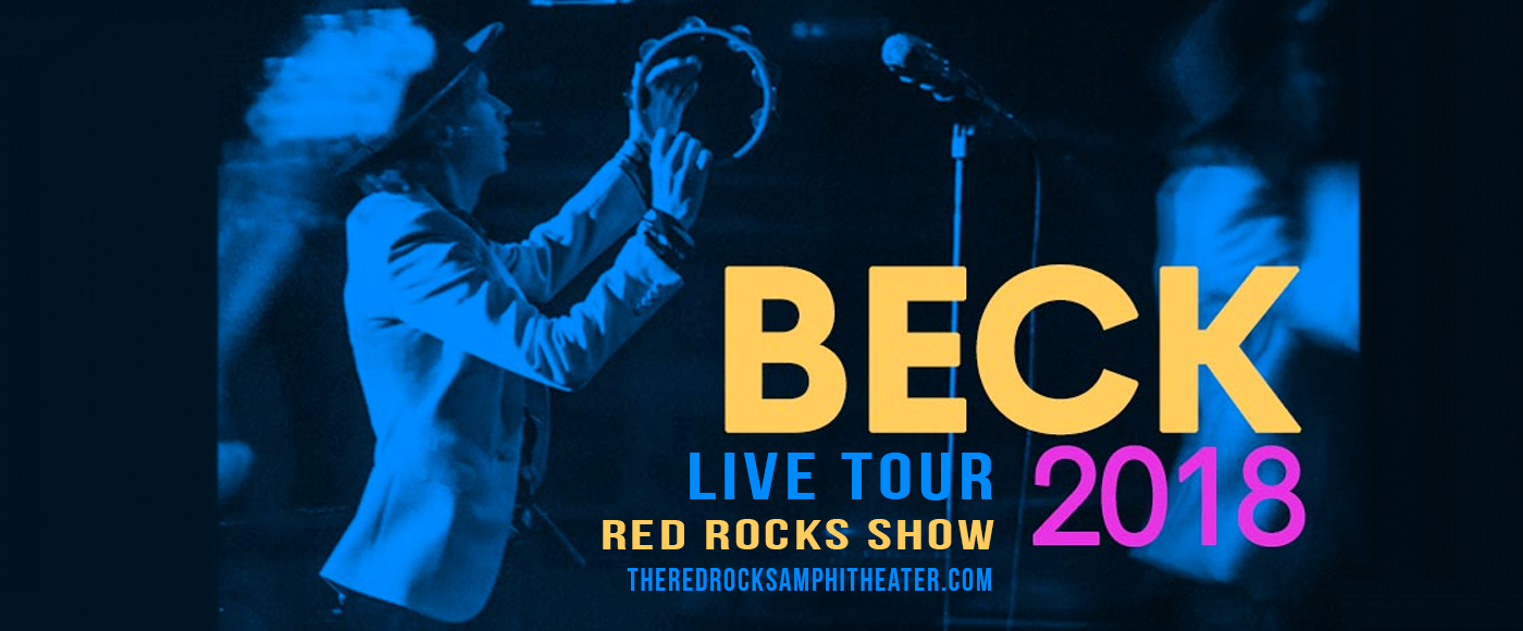 Beck at Red Rocks Amphitheater