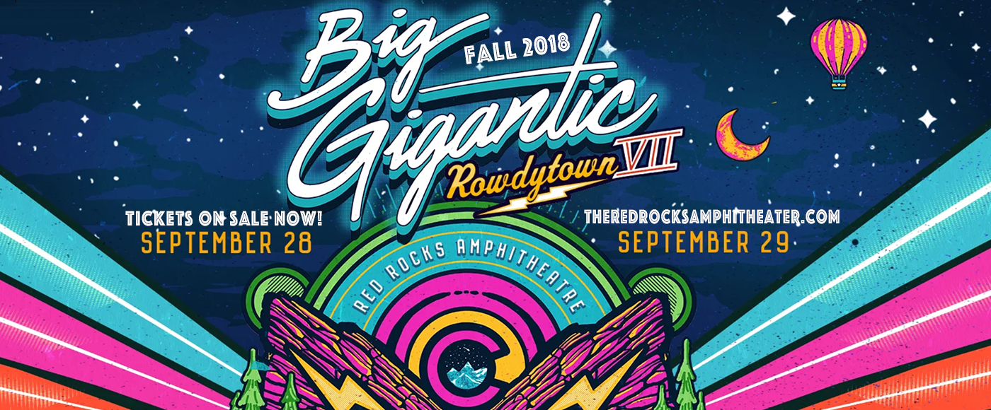 Big Gigantic at Red Rocks Amphitheater