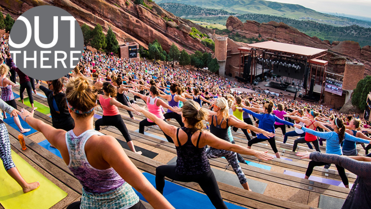 Yoga On The Rocks: Derise Anjanette - Saturday at Red Rocks Amphitheater
