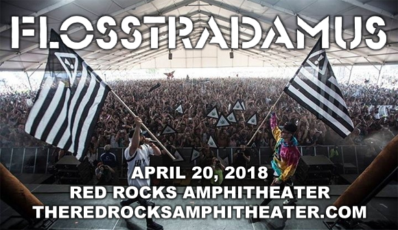 Flosstradamus, Kayzo & Famous Dex at Red Rocks Amphitheater