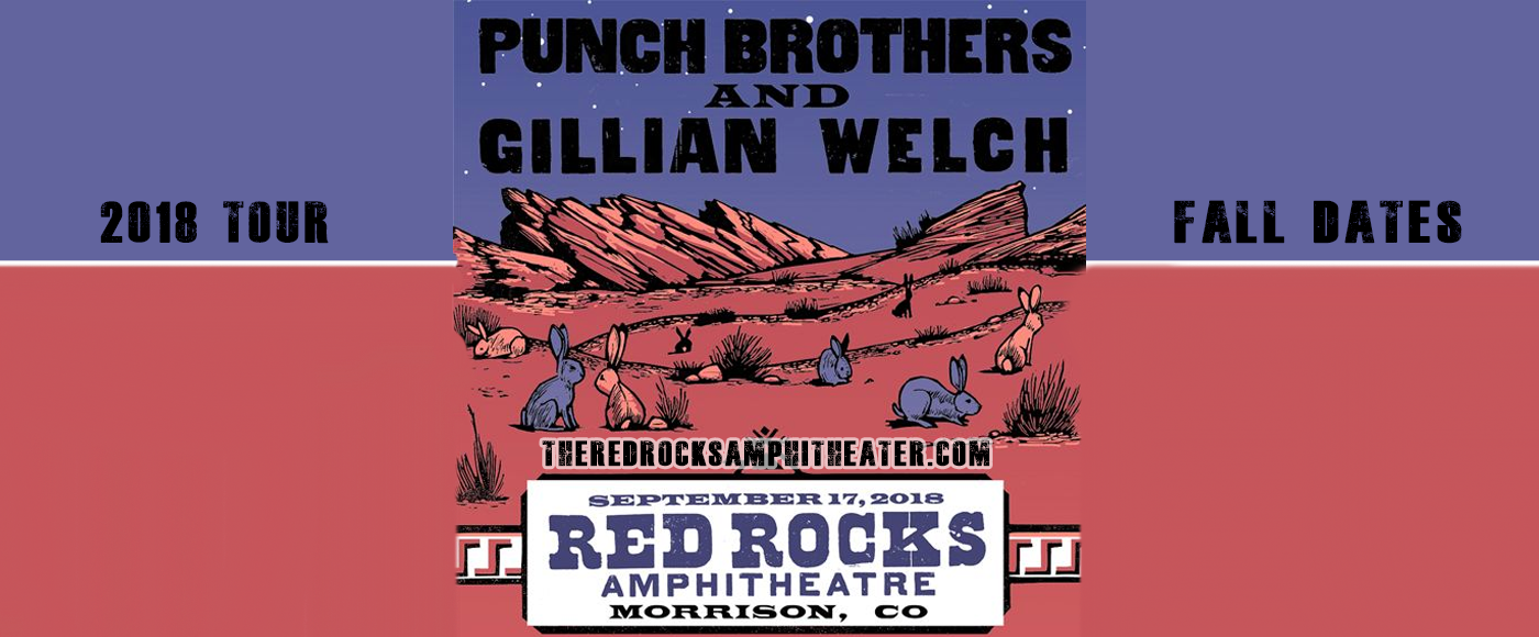 Punch Brothers & Gillian Welch at Red Rocks Amphitheater