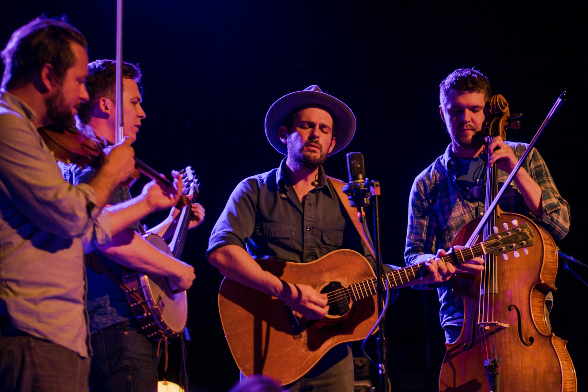 Gregory Alan Isakov at Red Rocks Amphitheater