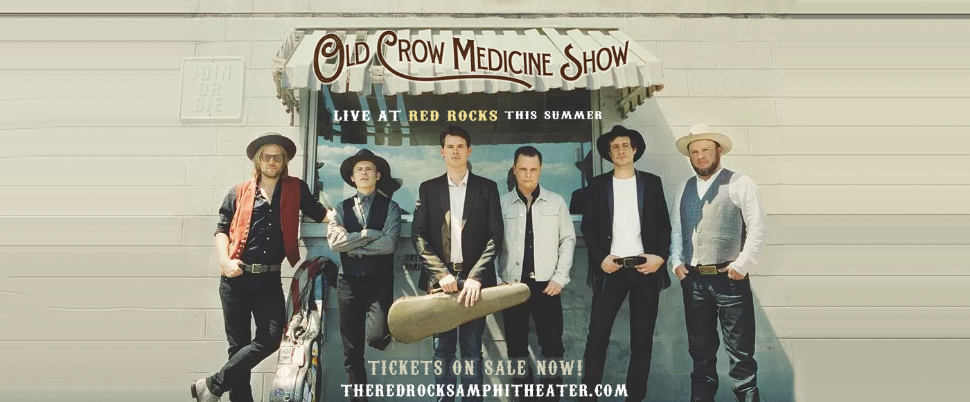 Old Crow Medicine Show at Red Rocks Amphitheater