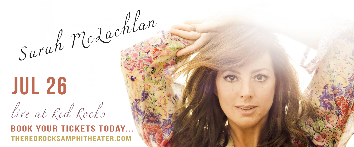 Sarah McLachlan at Red Rocks Amphitheater