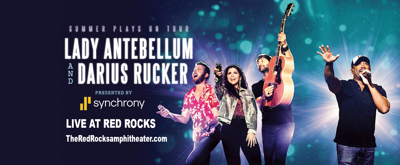 Lady Antebellum at Red Rocks Amphitheater