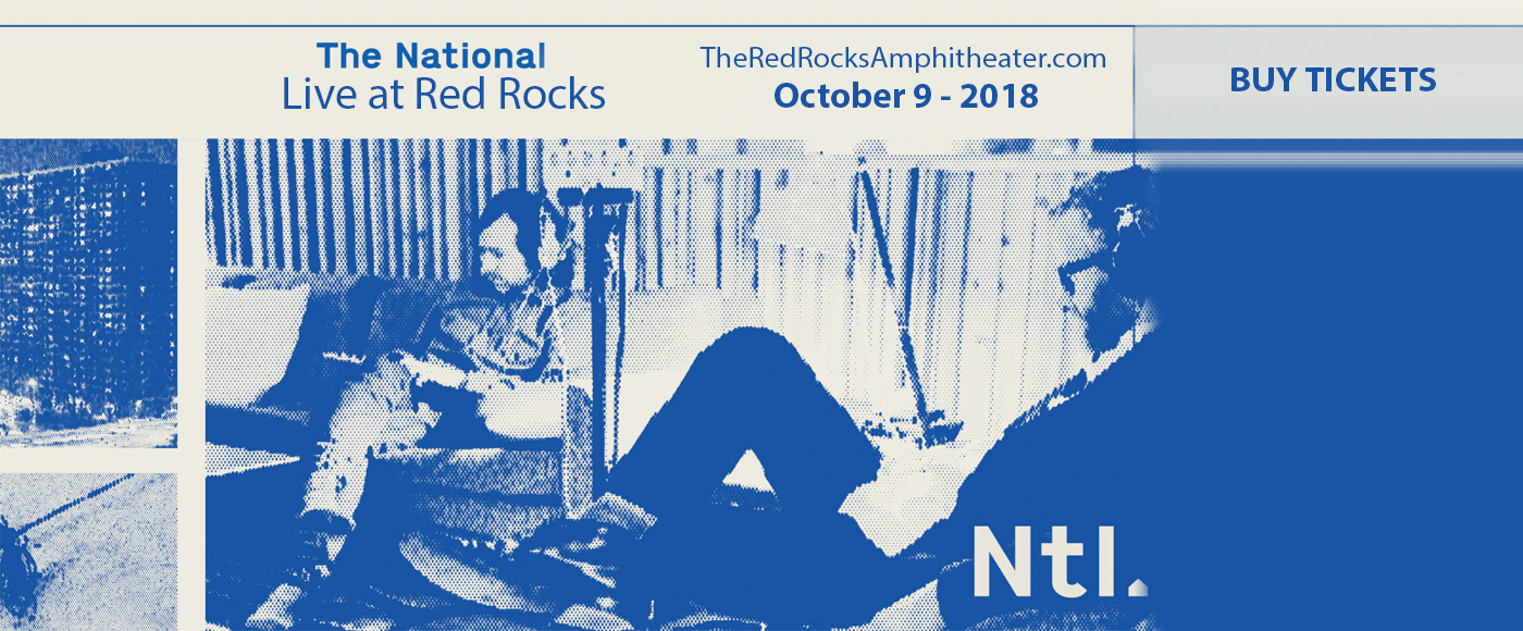 The National & Sharon Van Etten at Red Rocks Amphitheater