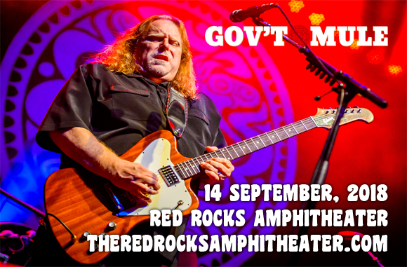 Gov't Mule at Red Rocks Amphitheater