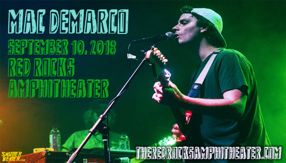 Mac DeMarco at Red Rocks Amphitheater