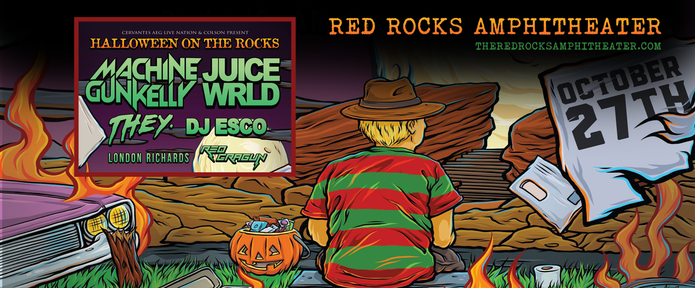 Halloween on The Rocks: Machine Gun Kelly & Juice Wrld at Red Rocks Amphitheater