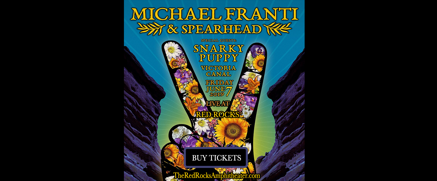 Michael Franti & Spearhead at Red Rocks Amphitheater