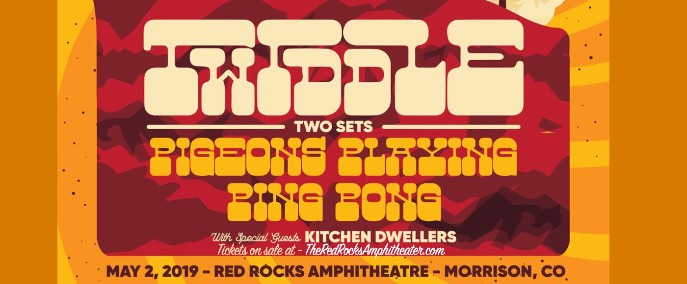 Twiddle, Pigeons Playing Ping Pong & Kitchen Dwellers at Red Rocks Amphitheater