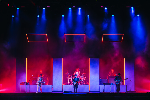 The 1975 at Red Rocks Amphitheater