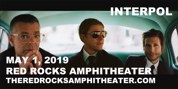 Interpol at Red Rocks Amphitheater