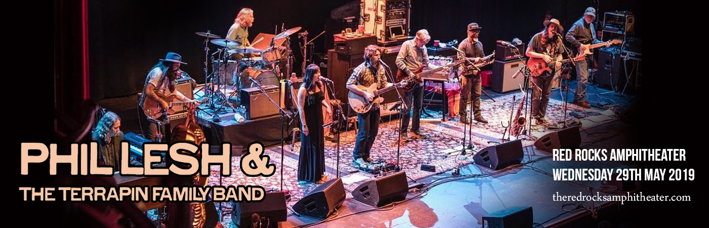 Phil Lesh & The Terrapin Family Band at Red Rocks Amphitheater