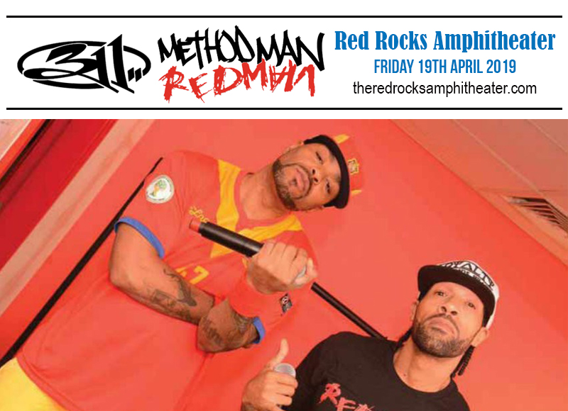 311, Method Man & Redman at Red Rocks Amphitheater