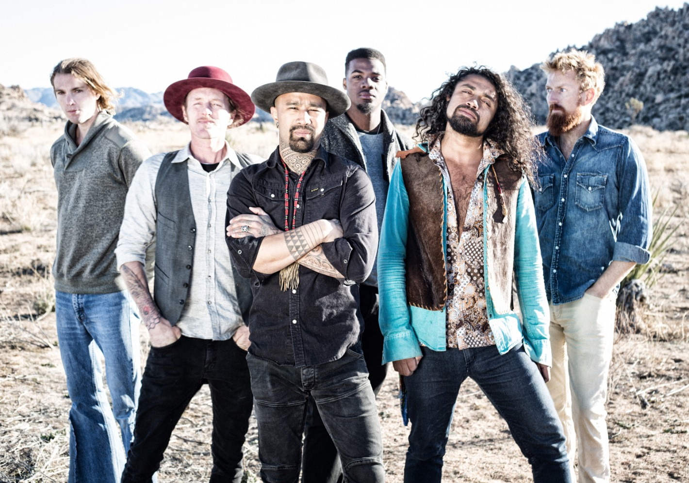Nahko and Medicine For The People & Trevor Hall at Red Rocks Amphitheater