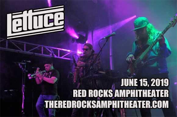 Lettuce at Red Rocks Amphitheater