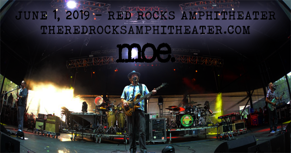 moe. at Red Rocks Amphitheater