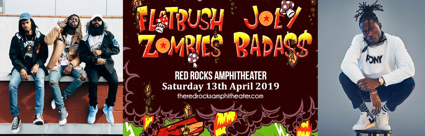 Flatbush Zombies & Joey Bada$$ at Red Rocks Amphitheater
