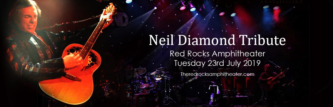 Neil Diamond Tribute at Red Rocks Amphitheater
