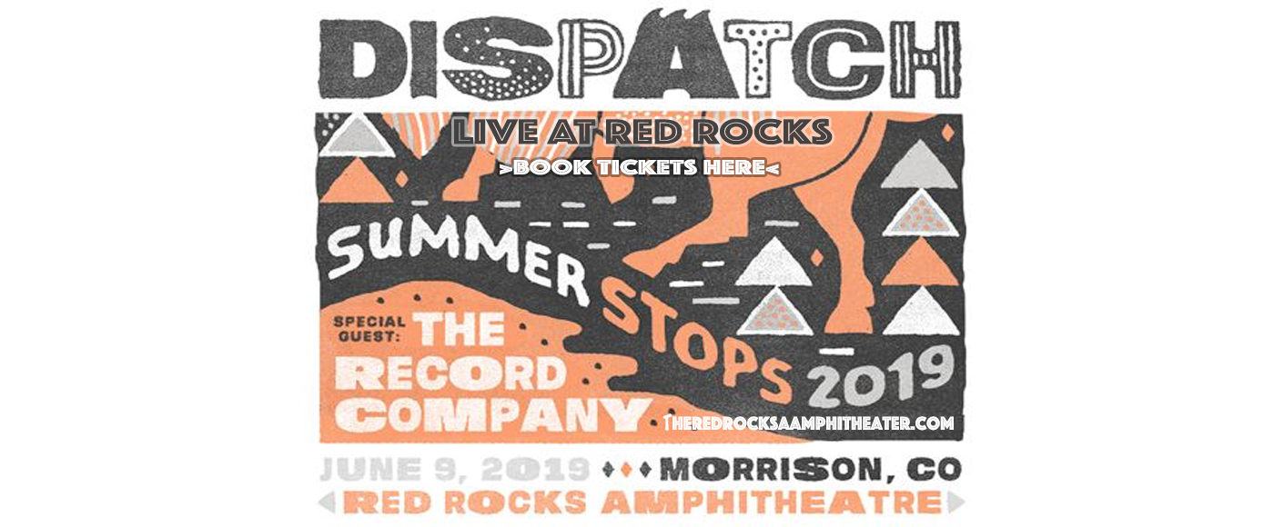 Dispatch at Red Rocks Amphitheater