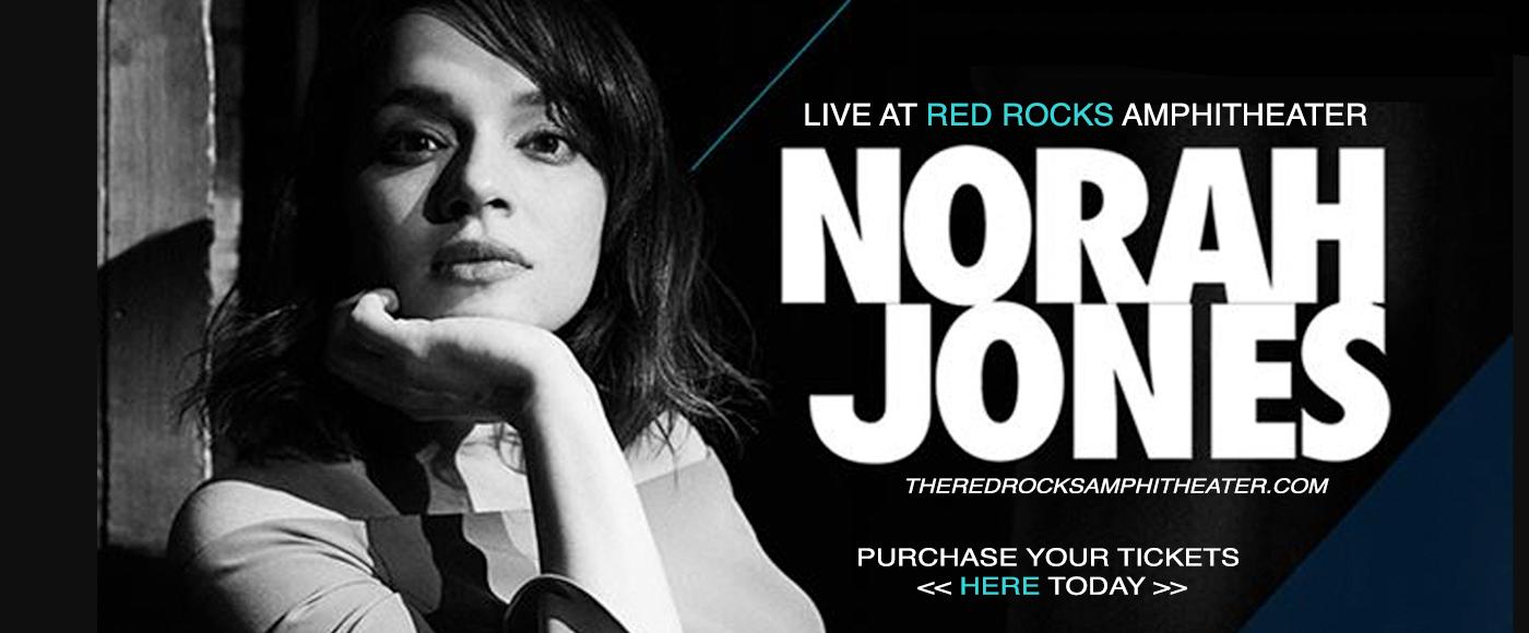 Norah Jones at Red Rocks Amphitheater