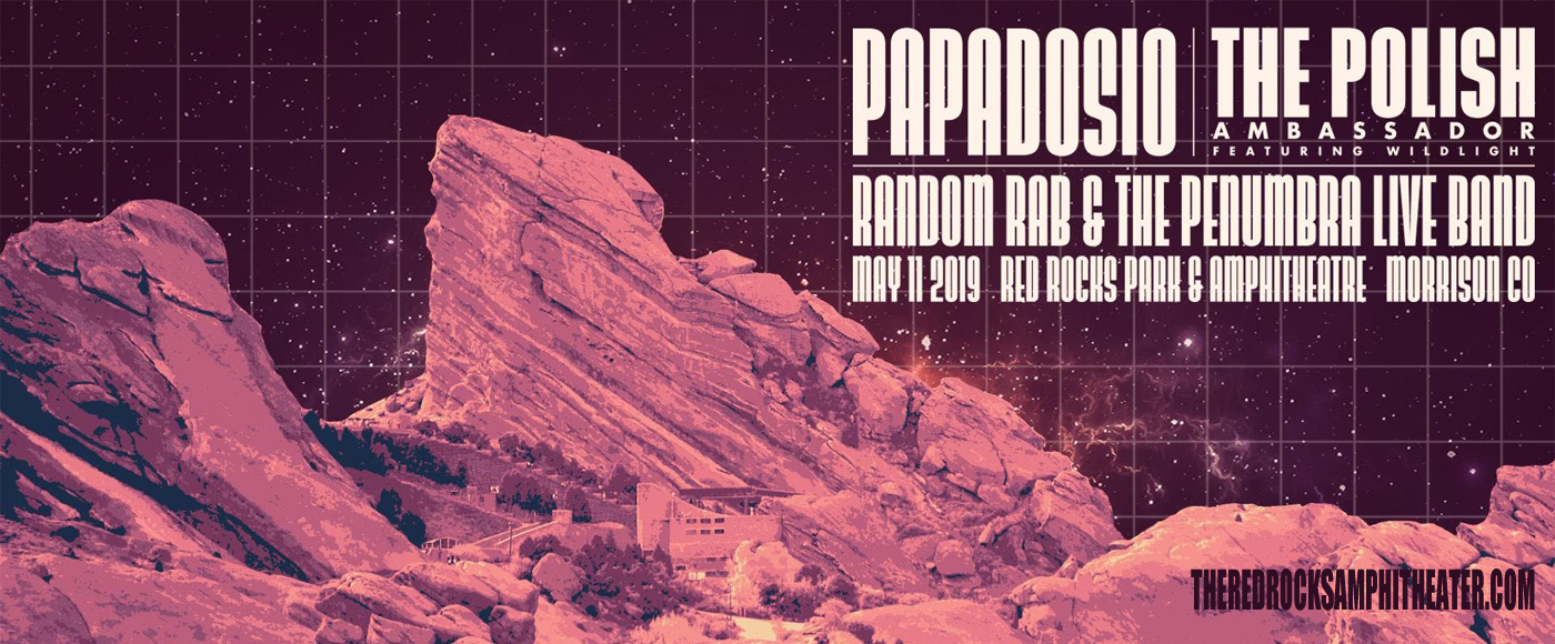 Papadosio & The Polish Ambassador at Red Rocks Amphitheater