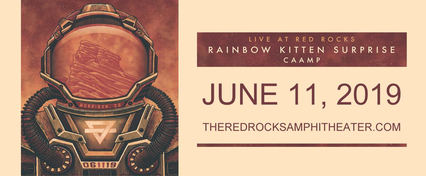 Rainbow Kitten Surprise  at Red Rocks Amphitheater